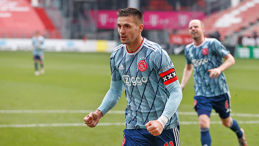 Our topscorer so far: Dusan Tadic (nine goals)